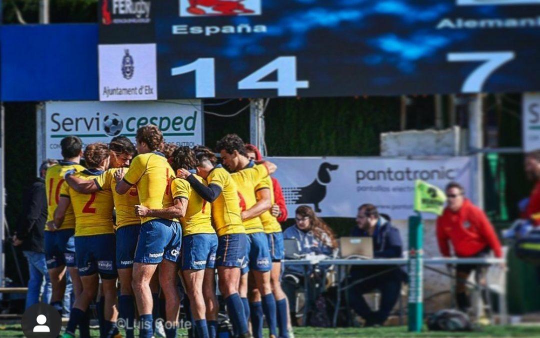 Edu, Paco y Franky convocados con España 7's