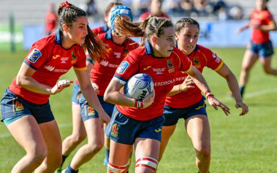 Olivia Fresneda madrina de A.D.Ingenieros Industriales Las Rozas Rugby
