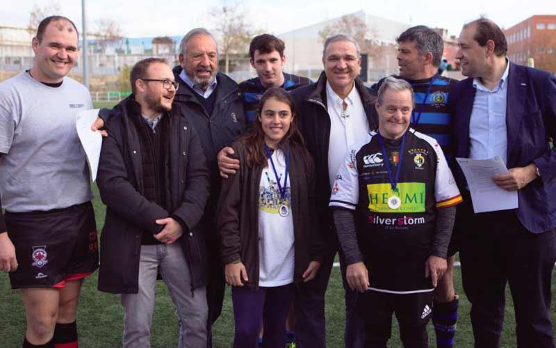 Histórica jornada para el rugby inclusivo